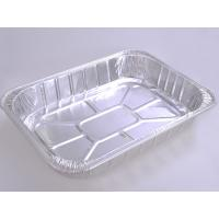 Wholesale Food Aluminum Foil Baking Pans Medium Size Rectangle For Meat Loaf from china suppliers