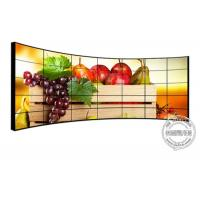 """Wholesale 49"""" 55"""" 65"""" 4*4 curved LCD video wall / 500 nits lcd panel TV wall big screen from china suppliers"""