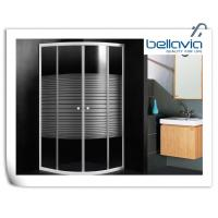 Wholesale Framed Sliding Door Quadrant Shower Enclosure 700 X 700 With 4mm Curved Glass from china suppliers