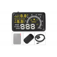 Wholesale 5.5 Inch Screen Elm327 Diagnostic Interface UD Head Up Display With OBD2 Black from china suppliers