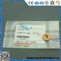 Wholesale F00VC17504 injector copper fitted to car, ERIKC automotive injector 7.1*15*2mm copper for diesel injector from china suppliers
