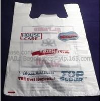 Wholesale Tesco carrier, t shirt bag, rubbish bags, handy bags, handle bags, shopper, LDPE, HDPE, MD from china suppliers