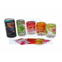 Wholesale Heat Plastic Stretch Sleeve Labels OPS Shrink Film for Nutraceutical / Metal Cans 40 Micron from china suppliers