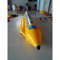 Buy cheap Single Lane Inflatable Toy Boat , PVC Tarpaulin Banana Boat Towable for 6 Person from wholesalers