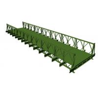 Buy cheap 200 Type Bailey Bridge With SS (Single Row Single Layer)  Q345B prefabricated steel material from wholesalers