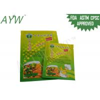 Wholesale Food ingredient packaging Plastic PouchesMoisture Proof , Zip lock Bag Stand from china suppliers