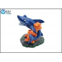 Wholesale Blue Dolphin Aquarium Fish Tank Decorations With Polyresin Corals Ornaments from china suppliers