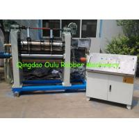 Wholesale High Output 800mm Two - Roller Calender Machine For Rubber Foam Sheet from china suppliers