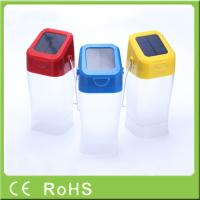 Quality Hot sell innovative cheap price emergency hanging rechargeable LED solar light for sale