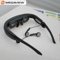 "Quality Wearable  72"" Mobile Theatre Video Glasses Wide Screen 16 / 9 Virtual Picture Music Movie for sale"
