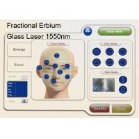Wholesale 1550nm Fractional Erbium Glass Laser For Skin Resurfacing , Anti Wrinkle Machine from china suppliers