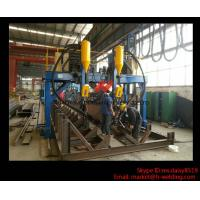 Quality Professional H / I Beam Flange And Seam Welding Line Automatic Welding Machine for sale