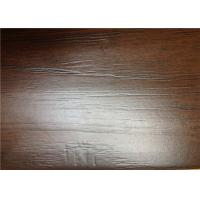 Wholesale Hand Scraped Laminate Floor Boards , Brown Wooden DIY Floating Floor from china suppliers