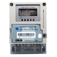 Wholesale Card Type Smart Electric Meters , Plug - In Module Single Phase Electronic Meter from china suppliers