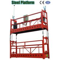 Wholesale ZLP Double Cage Aerial Hanging Suspended Scaffolding, Tower Working Platform for Building from china suppliers