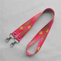 Open Double-Ended full color lanyard with rivet seal