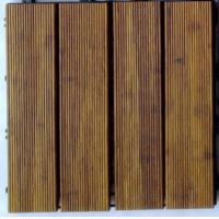 Wholesale DIY Outdoor Bamboo Decking Tiles from china suppliers