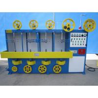 Buy cheap Double Layer High Speed Cable Wrapping Machine Vertical Type ISO9001 CE from wholesalers