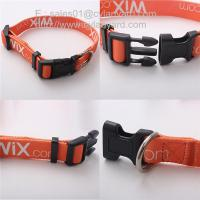 Polyester ribbon pet Collars