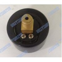 Wholesale 40mm Brass internals air pressure gauges back mount with black steel case from china suppliers