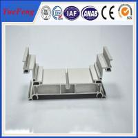 Quality 6000 series alloyed aluminum profile factory price / aluminum profile with anodizing for sale
