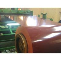 Wholesale JIS Standard 55% AL Prepainted Steel Coil , Colour Coated  PPGL Coil from china suppliers