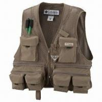 Wholesale Mesh Fishing Vest, Ideal for Photography, Hiking and Hunting, OEM Orders are Welcome from china suppliers
