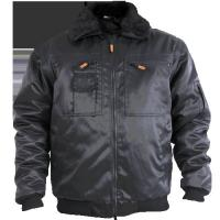 China polyester spring Working clothes long sleeve mens coat in black on sale