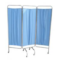 Wholesale 3 Folding Stainless Steel Ward Screen Hospital Furniture Bed Ward Folding Screen from china suppliers