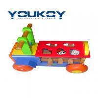 Wholesale Wooden Toy Car Educational Sorting Box(WT1077) from china suppliers