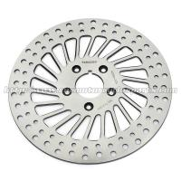 Wholesale Classic Silver Front / Rear Brakes And Rotors For Harley Davidson Custom Parts from china suppliers