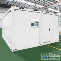 Wholesale Steel prefabricated Container Modular Homes Mobile House With Steel Door from china suppliers