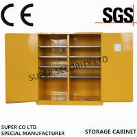 Wholesale Flammable Chemical Storage Cabinet For Storing Liquid , Hazardous Cupboards from china suppliers
