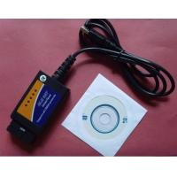 Wholesale Elm 327 Usb Car Diagnostic Interface Scan Tool , OBD OBDII Software Scanner from china suppliers