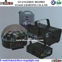 Wholesale Party Magic Ball / Mini Laser Light / Small Fog Machine / Fog Liquid Group from china suppliers