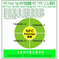 Buy cheap NFC Forum Tag NDEF format Package, NFC Package, NFC TYPE 1,2,3,4 series Card from wholesalers