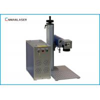 Wholesale Air Cooling Metal Fiber Laser Marking Machine with EZCAD software 20w 110*110mm from china suppliers