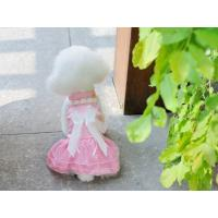 Wholesale Nice-looking pink wedding dress for dog cheap dog clothes from china suppliers