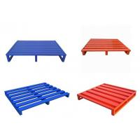 Wholesale Customized High Quality Stackable Heavy Duty Steel Pallet from china suppliers