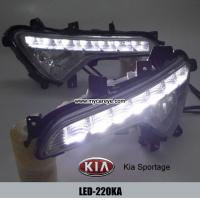 Wholesale KIA Sportage DRL LED Daytime Running Lights Car front light retrofit from china suppliers