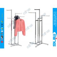 Wholesale 4-Way Chrome Metal Clothes Rack with Square Tubing Arms from china suppliers