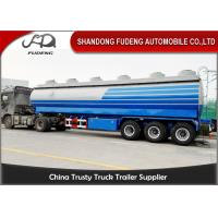 Wholesale Carbon Steel 15000 Gallon 50m³ Fuel Tanker Semi Trailer 12 Wheeler Plam Oil Transport from china suppliers