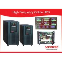 Wholesale 1Ph in / 1Ph out online High Frequency Ups with Large LCD display , RS232 / SNMP / USB Optional from china suppliers