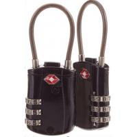 Quality Flexible Security Cable Lock Zinc Alloy Combination Luggage Locks TSA Approved for sale