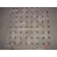 Wholesale Beige Noce Marble Travertine Basketweave Mosaic Tile/ Wall Tile/ Floor Tile from china suppliers