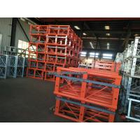 Buy cheap 650MM Mast Sections Building Construction Hoist Spare Parts 1.508m Height from wholesalers