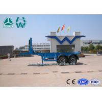 Quality 2 Axles 20ft / 40ft Transport Container Tipper Semi Trailer Sinotruk Huawin for sale