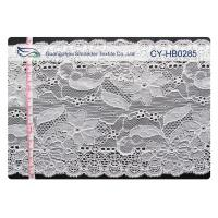 Wholesale Water Soluble Elastic Lace Fabric , Stretchable Lace Trim SGS CY-HB0285 from china suppliers