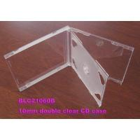 China 10mm double clear CD case on sale