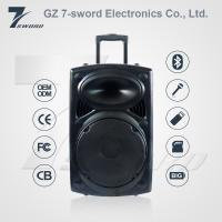 Wholesale OEM 2017 Hottest Sales 12V 7A Rechargeable DJ Trolley Speaker with bluetooth from china suppliers